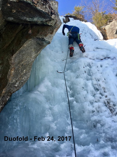 Rock Climbing Photo: Just screwing around - Feb 24, 2017