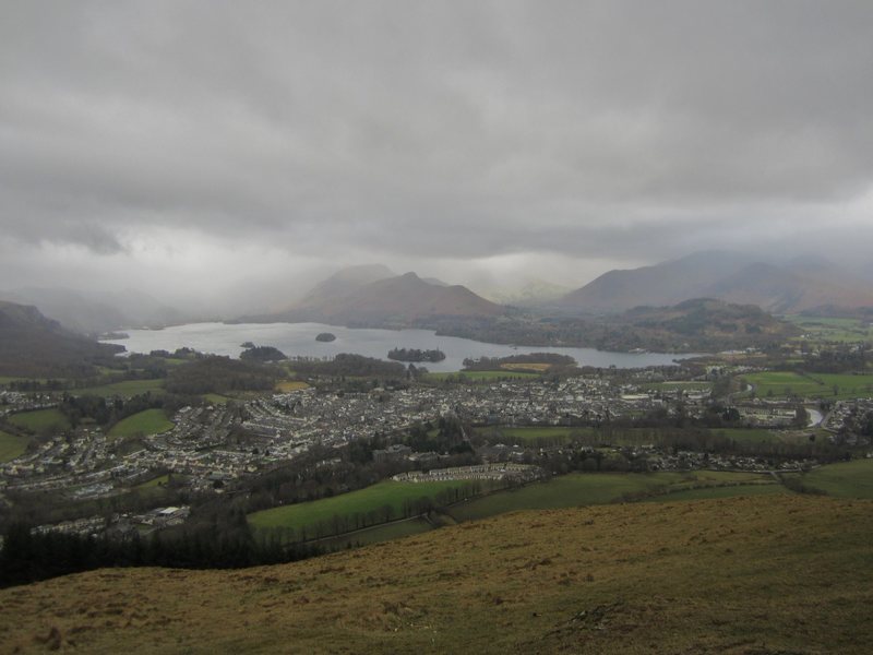 Clouds over Keswick