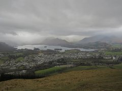 Rock Climbing Photo: Clouds over Keswick
