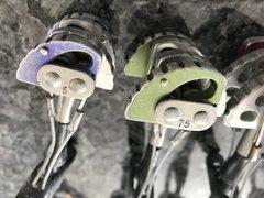 Rock Climbing Photo: cams