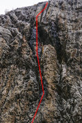 Rock Climbing Photo: Water Witch upper.