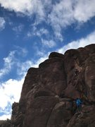 Rock Climbing Photo: Noah's Ark