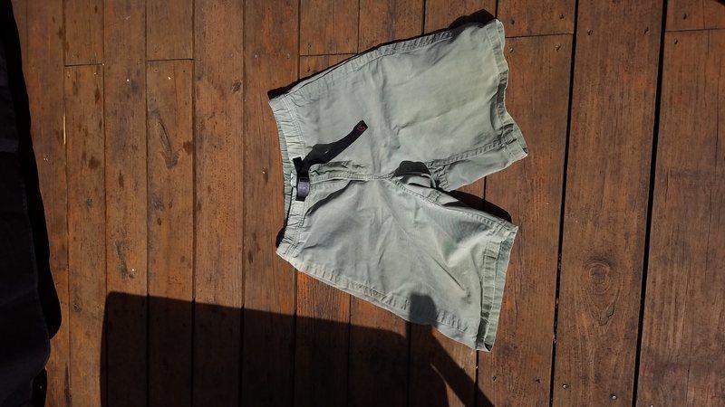Rock Climbing Photo: Gramicci shorts