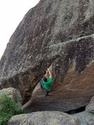 "Rock Climbing Photo: Ross climbing ""Skeletons in the Closet"" ..."