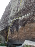 Rock Climbing Photo: 1) Skeletons in the Closet (V6)