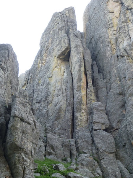 Obelisk formation from the Two - Three Gully