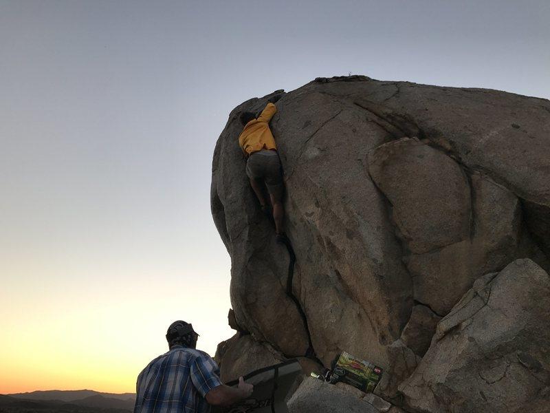 Rock Climbing Photo: The FA by Adam Linamen on Ride the Lightning