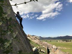 Rock Climbing Photo: Gavin on Misfits: Collection 1