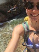 Rock Climbing Photo: Tyroleans for days in Clear Creek