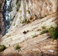 Rock Climbing Photo: Struggles