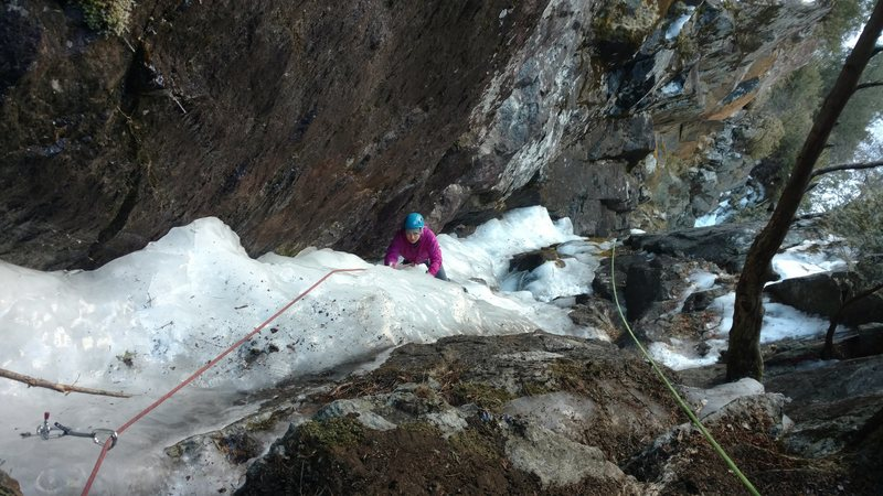 Rock Climbing Photo: Multiplication gully 2017