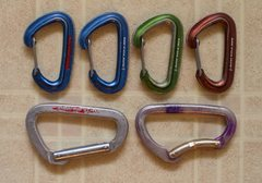 Rock Climbing Photo: Carbiners for sale