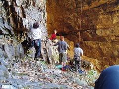 Rock Climbing Photo: BSR01- Back Street Revelations: Nov 11, 2005 I jus...
