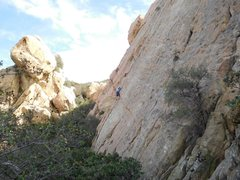 Rock Climbing Photo: Saddle Peak with the Corpse Wall and the Outsider ...