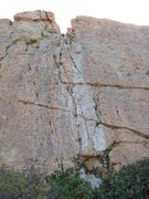 Rock Climbing Photo: Well featured and fractured sandstone.