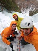Rock Climbing Photo: chilling the belay