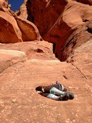 Rock Climbing Photo: When starting the route, watch out for the hueco t...