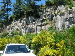 Rock Climbing Photo: Christmas Crag