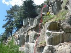 Rock Climbing Photo: Four Mantels and a Polish Maid