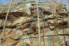 Rock Climbing Photo: Career Guides - right side: J. Addicted to Bad Ide...
