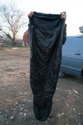 $50 Integral Designs Primaloft very light sleeping bag.