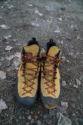 $100 Like new used lightly once La Sportiva Boulder X Mid GTX Approach Shoe size 45.