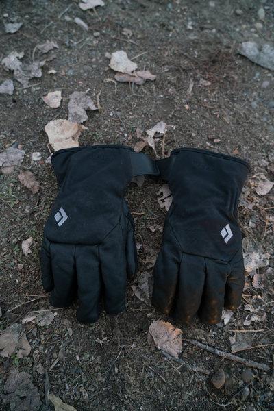 Rock Climbing Photo: $50 lightly used Black Diamond Rambla Gloves size ...