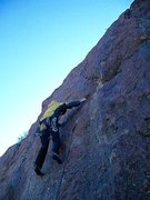 Rock Climbing Photo: Alt-Frack FA