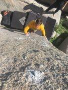 Rock Climbing Photo: Adam sends!