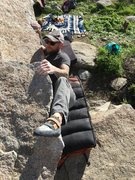 Rock Climbing Photo: Heal hooking fun