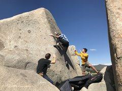 Rock Climbing Photo: Sweet arête
