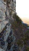 Rock Climbing Photo: Millbrook ledge