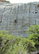 Rock Climbing Photo: Karen on Fun Stuff