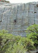 Rock Climbing Photo: Karen on Fun Stuff