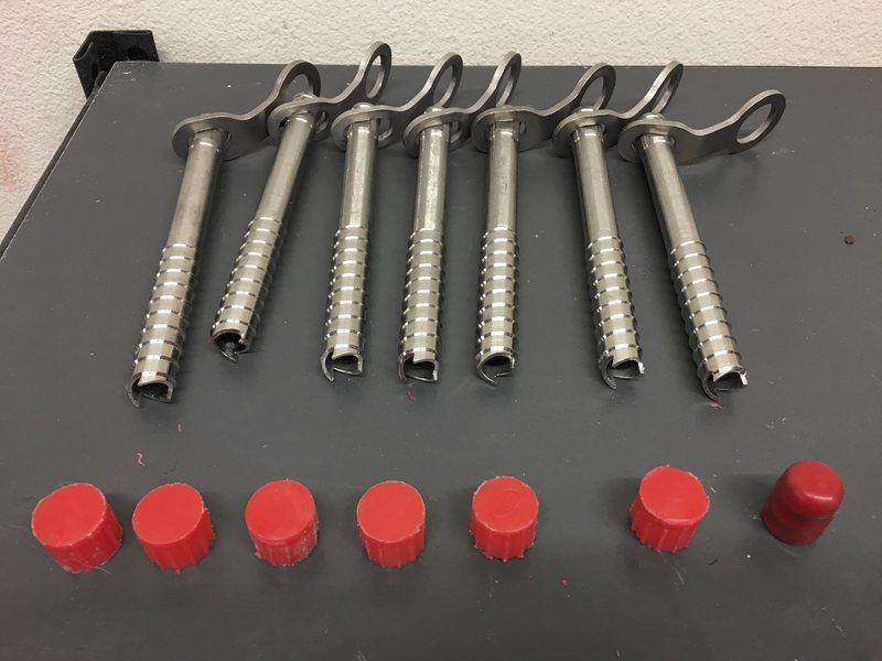 ibris Titanium screws