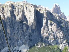 Rock Climbing Photo: Cime Col de Bos. The prominent arête in center is...