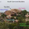 South Carnivore Boulders