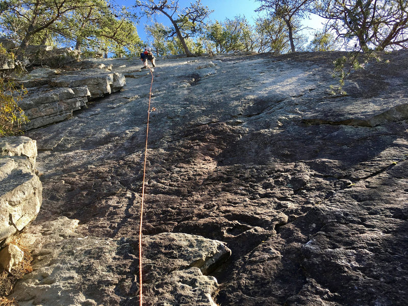 Rock Climbing Photo: JH on Raising Arizona