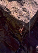Rock Climbing Photo: Patrick Edlinger runs a lap on Beware the Future a...