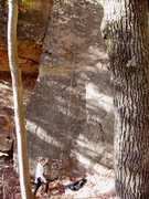 Rock Climbing Photo: Knock on Rock (L) and Walk By Me (R) S Matz at the...