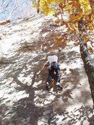 Rock Climbing Photo: Sheila Matz on Girls Only, Nov 2005