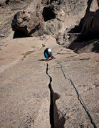 Rock Climbing Photo: splitter