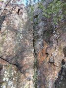 Rock Climbing Photo: Right Face at Dihedral.