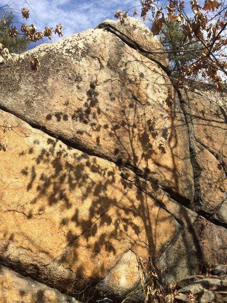 Rock Climbing Photo: The Navel.