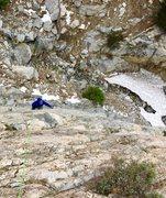 Rock Climbing Photo: Icehouse Canyon  Steven Lee all smiles choss tooli...