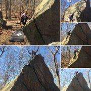Rock Climbing Photo: hold my beer