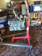I'm rebuilding a Yamaha Outboard in the front room