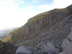 Rock Climbing Photo: Eiger and Batpole walls