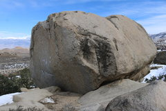 Rock Climbing Photo: A picture of the boulder.