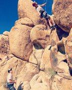 Rock Climbing Photo: Fun top rope session